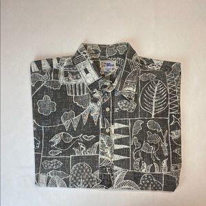 REYN SPOONER HAWAIIAN Shirt size XL Short Sleeve